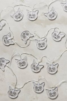 Anthropologie Meow String Lights