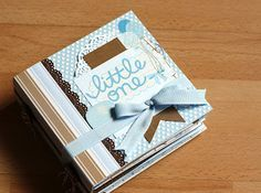 Really cute ideas in this mini by Pebbles Inc * nice fold out photo pages ♥