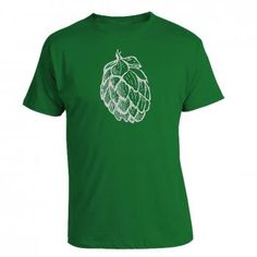 0c12e3a76fc2 Hops Cone Graphic Tee Craft Beer List