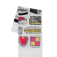 naughty but nice dish towel > Charlotte Farmer collection > homeware SHOP > New House > New House Textiles