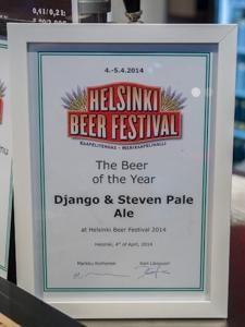 Saimaan Juomatehdas Django & Steven Pale Ale 5,2% hana HBF 2014