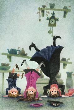 "roseapetitspois: "" ""Mary Poppins comes back"" for Houghton Mifflin Harcourt -Cover 2 """