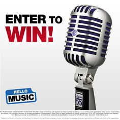 Now through December 15, 2014, enter to win a Shure Super 55 Deluxe Vocal Microphone at http://woobox.com/zj83yx?source=pinterest. Cheers!