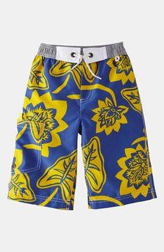Mini Boden Surf Shorts