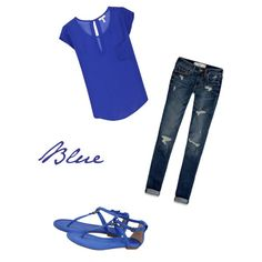 Blue outfit!!!!!(: