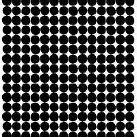 Marimekko Pienet Kivet Polster/ Bezugs Stoff Meterware schwarz-weiß