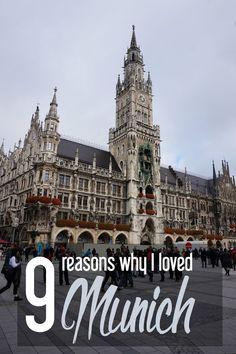 9 Reasons Why I Loved Munich, Germany
