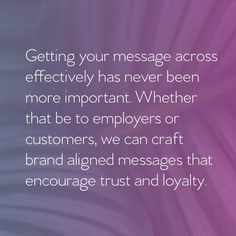 Trust And Loyalty, Branding Agency, Your Message, Digital Marketing, Encouragement, Advertising, Social Media, Messages, Content