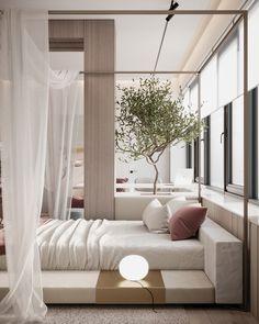 Room, Bed Design, Home, Home Bedroom, Bedroom Interior, House Interior, Minimalist Bedroom, Home Interior Design, Urban Apartment