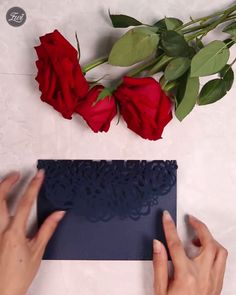 Beauty and the beast navy blue laser cut pocket wedding invitation suites Beauty And The Beast Wedding Invitations, Beauty And Beast Wedding, Pocket Wedding Invitations, Diy Invitations, Wedding Invitation Suite, Invitations Online, Invitation Envelopes, Invitation Ideas, Diy Wedding Video