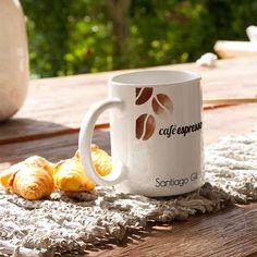 Imprime online tus Mugs personalizados para toda ocasión. Son blancos y tienen capacidad para 11oz, impresos a full color y excelente resolución. - Llegamos a toda Colombia
