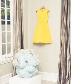 love this Monique Lhuillier dress. yellow makes everything better!