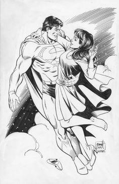 Superman & Lois Lane by Tom Grummett