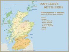Whisky Regions of Scotland · Chart 06: Region: Lowland/ Highland/ Speyside · www.alba-collecti...
