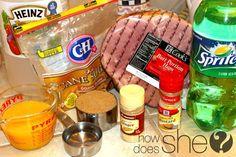 Bone-In Baked Ham Recipe- Don't make ham until you read...