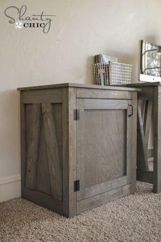 DIY Desk or Nightstand - Free Woodworking Plans