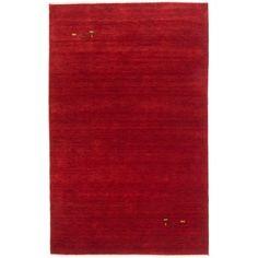 ecarpetgallery Kashkuli Gabbeh Red Wool Rug (4' x 6')