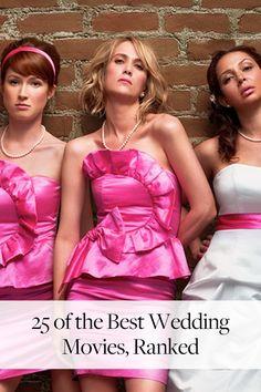 The 25 Best Wedding Movies, Ranked via @PureWow