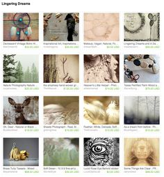 "Randomly chosen pool party participant Gwen picked Vee's ""Lingering Dreams"" as this week's Pay-Up Treasury fave. May 23, 2014. https://www.etsy.com/treasury/NTI4MjYwMnwyNzI2MjI1NjEy/lingering-dreams"