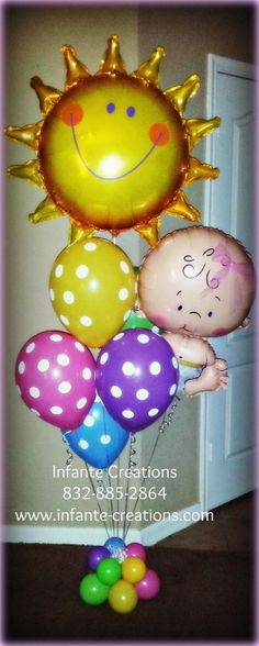 Bright Welcome Baby Balloon Bouquet