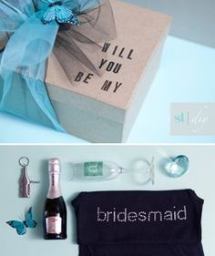 Creative Way to ask Bridesmaids to be in our Wedding | Weddings, Fun Stuff | Wedding Forums | WeddingWire