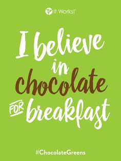 Full serving of fruits and veggies ✅ energy ✅ delicious ✅ all in one? ✅ Check out the It Works Greens in chocolate! It Works Greens, It Works Marketing, Online Marketing, It Works Distributor, Skinny Coffee, It Works Global, Too Much Stress, It Works Products, Green Pictures