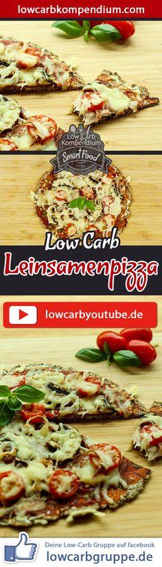 Jeder kennt sie, jeder liebt sie - nur leider ist sie nicht Low-Carb: Die Pizza. Deshalb haben wir uns eine leckere Low-Carb Alternative überlegt, die mindestens genau so lecker ist – Die Low-Carb Leinsamenpizza.    Und nun wünschen wir dir viel Spaß beim Nachkochen, LG Andy & Diana.