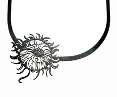 $38.90 Laser Cut Leather Necklace €29.90