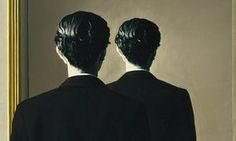 Magritte, La repro- duction interdite (1937)