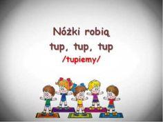Rączki robią klap, klap, klap - YouTube Tip Top, Zumba, Preschool Crafts, Cool Kids, Montessori, Science, Make It Yourself, Education, Creative
