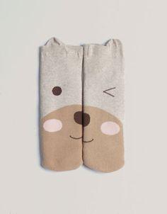 Bear face socks - Socks - Accessories - Netherlands
