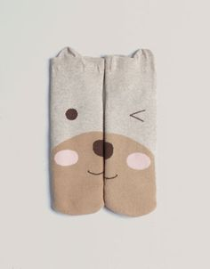 Bear face socks - Socks - Accessories - Italia