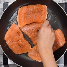 This Creamy Salmon recipe is easy to make and a delicious low carb salmon dinner recipe that's so tasty and quick to put together. Keto-friendly, made in one pan and ready in just under 30 minutes.