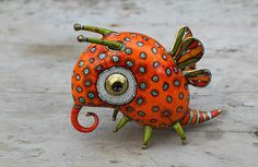 Les Animaux Fantastique en Porcelaine de Anya Stasenko Et Slava Leontyev (5)