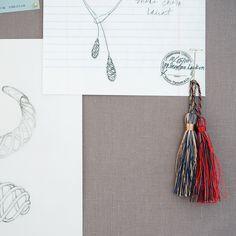 Sketches for Paloma's Venezia collection. #TiffanyPinterest
