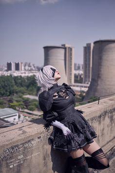 尼尔机械纪元ヨルハ二号B型 - senses(森森) 2B Cosplay Photo - Cure WorldCosplay