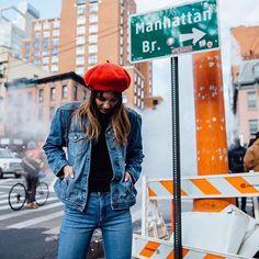@niccollie for #STREET365 wearing Chloe Jacket Redone and #CultSkinny Ankle Tonal | On the blog now |  via @carmengracehamilton #NobodyDenim