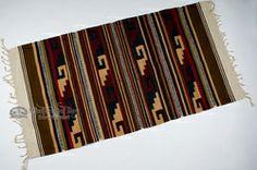Southwestern Zapotec Indian Rug 30x60  (84)