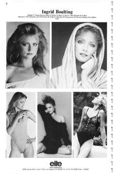 The Model Archives of Marlowe Press  Elite (Los Angeles)1984