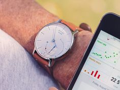 Stylish Fitness Tracker Watch by Withings