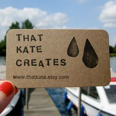 Business Card for: That Kate Creates | The Best of Business Card Design