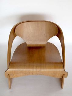 Plywood 4801 lounge chair by Joe Colombo for Kartell at…