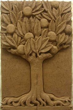 Eisentrager Studio for relief sculpture & architectural ornamentation A individual amount resting it's brain concerning Clay Wall Art, Clay Art, Stone Carving, Wood Carving, Logo Arbol, Ceramic Techniques, Clay Tiles, Pottery Making, Sculpture Clay