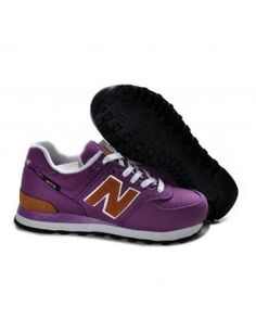 NEW BALANCE 574 FEMME VIOLET MARRON CHAUSSURES CHAUSSURES Cheap New Balance,  New Balance Shoes, 9b535871918e