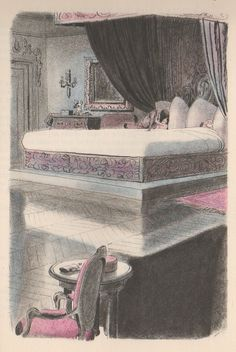 Georges Beuville- another very influential style Rendering Art, Interior Rendering, Character Drawing, Character Design, Grafic Novel, Vintage Drawing, Tumblr, Art World, Illustrators