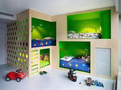 chambre enfant à New York par Incorporated photo par  Annie Schlechter