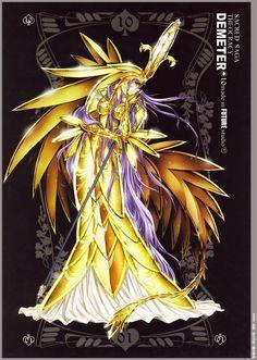 Saint Seiya, Sacred Saga Art Collection Green, Demeter (Saint Seiya), Armor Dress