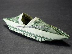 KAYAK Dollar Origami