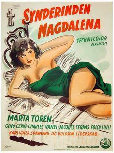 Magdalena (19549 Maddalena es una mujer de vida equívoca, que, ocultando su condición, se presta a figurar en una procesión pueblerina representando a la Virgen María. Tal es el punto de partida...