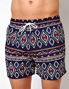 Tribal Print Swimwear. Love.